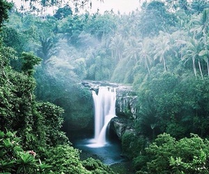 waterfall, earth, and goals image