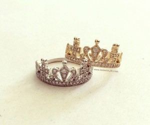 crown, ring, and fashion image