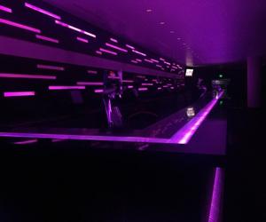bar, glow, and pink image