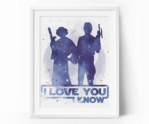 etsy, Princess Leia, and gift for him image