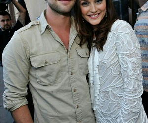 Chace Crawford, leighton meester, and leightonmeester image