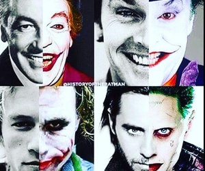 joker, jared leto, and heath ledger image