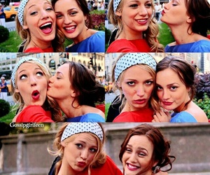 blair waldorf, love them, and blake lively image