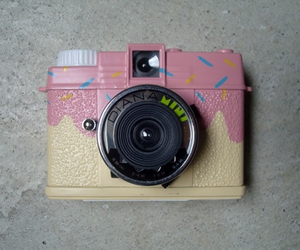 camera, sprinkles, and weheartit image