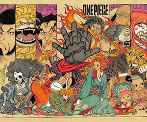 legend, onepiece, and manga image