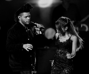 ariana grande, amas, and the weeknd image