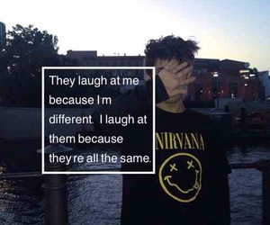 nirvana, grunge, and quotes image