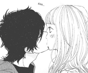 kiss, anime, and manga image