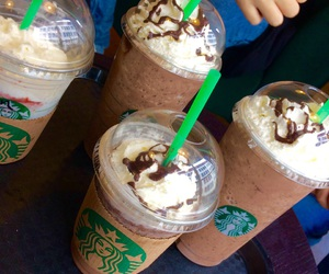 chocolate, coffe, and java chip image