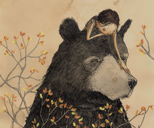bear and art image