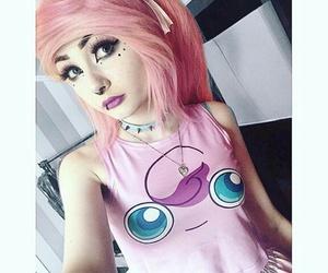 hairstyle, emo girl, and emo kid image