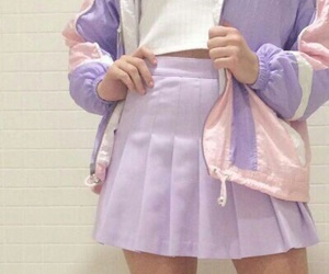purple, pastel, and aesthetic image