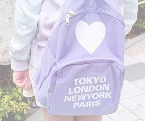 purple, pastel, and tokyo image
