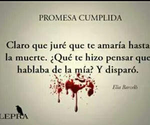 promise, frases, and muerte image