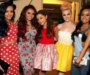 little mix, ariana grande, and jesy nelson image