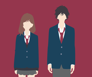 ao haru ride, anime, and minimalist image