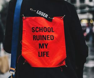 school, fashion, and quote image