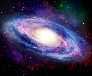 galaxia, space, and stars image