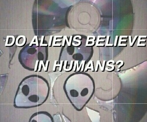alien, grunge, and humans image