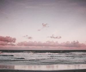gif, beach, and sky image