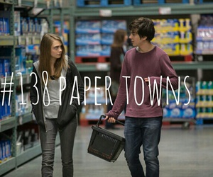 paper towns, nat wolff, and cara delevingne image