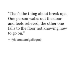 breakup, quotes, and sad image