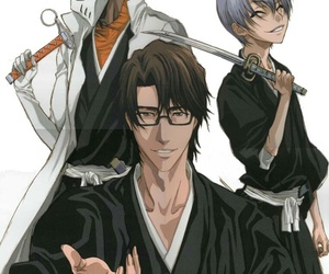 bleach, gin, and aizen image