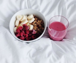 smoothie and fruit image