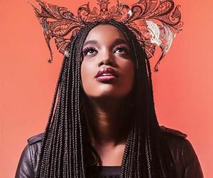 black beauty, braids, and brasil image