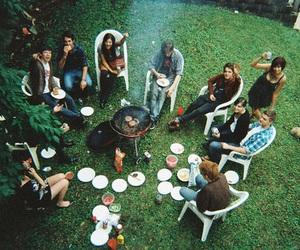 friends, indie, and food image