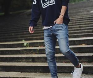 boy, adidas, and style image