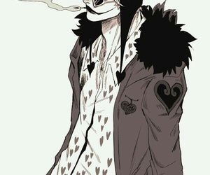 one piece, corazon, and anime image