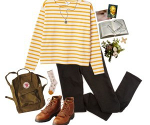 outfit, Polyvore, and vintage image