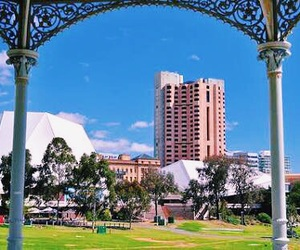 cities, adelaide, and australia image
