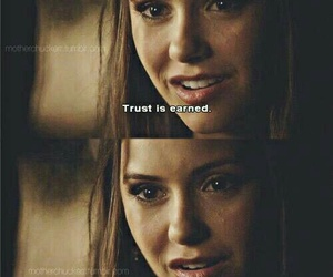 tvd, Nina Dobrev, and quote image