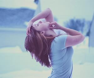 girl, alone, and sad image