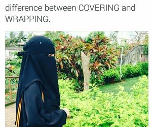 allah, covering, and hijab image