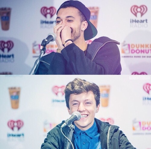 kalin white, myles parrish, and kalin and myles image