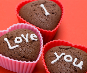 heart, love, and muffin image