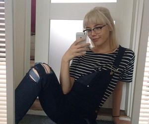 alternative, blond, and grunge image