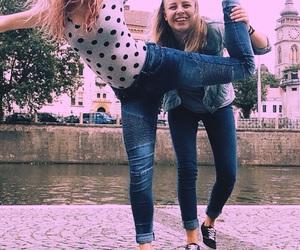 best friend, fashion, and friend image
