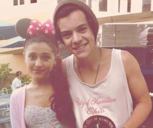 Harry Styles, ariana grande, and one direction image