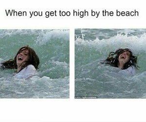 lana del rey, high by the beach, and funny image