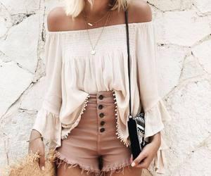 boho, outfit, and fashion image
