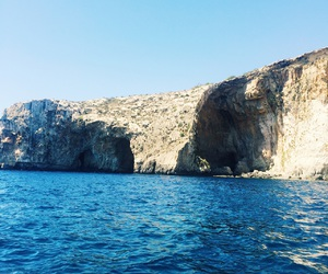 cruise, malta, and blue grotto image
