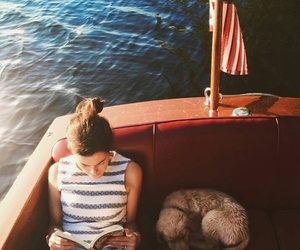 boat, summer, and cozy image