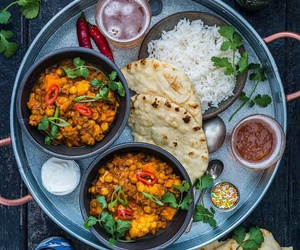 beautiful, curry, and food image