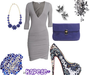blue, fashion, and kapege image