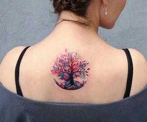 acuarela, tatto, and tatuaje image