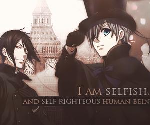 black butler, kuroshitsuji, and sebastian michaellis image